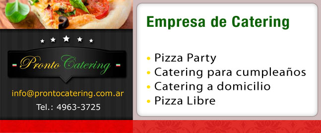 servicios de catering, catering lunch, catering boda, catering para fiestas, oeste catering, pizza catering for parties, catering y eventos, servicio de catering zona sur,