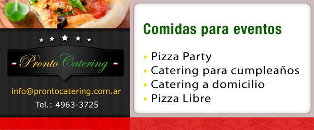 pizzas cumpleaños, pizza party a domicilio, servicio de pizza a domicilio, pizza party capital federal