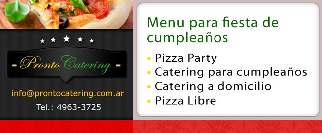 Eventos en Familia Pizza Party Barrio Escobar